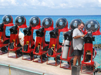 Explore Cozumel in your own private Mini Sub!