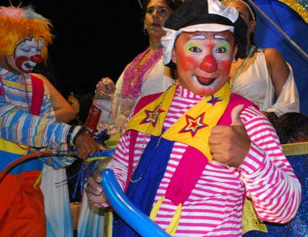 This photo was taken during Cozumel Carnival 2008